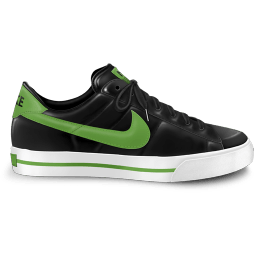 Nike Classic Shoe Green Sticker