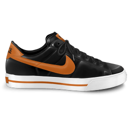 Nike Classic Shoe Orange Sticker