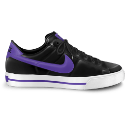 Nike Classic Shoe Purple Sticker