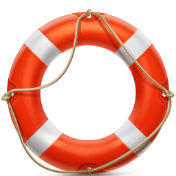 Lifesaver Sticker