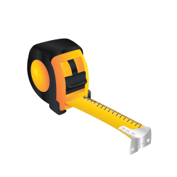 Tape Measure Sticker