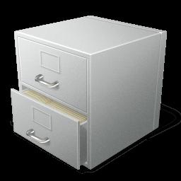 File Cabinet Sticker