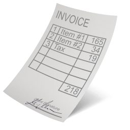 Invoice Sticker