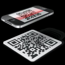 Qr Code Iphone Sticker