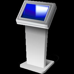 Touch Screen Kiosk Sticker