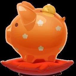 Piggy Bank Sticker