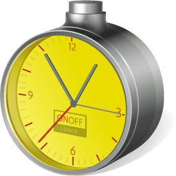 1998 Low Cost Clock Sticker