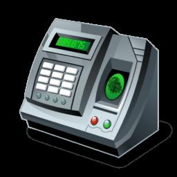 Fingerprint Reader Sticker