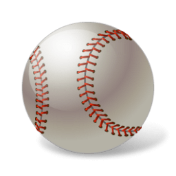 Baseball Ball Sticker