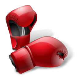 Boxing Gloves Sticker