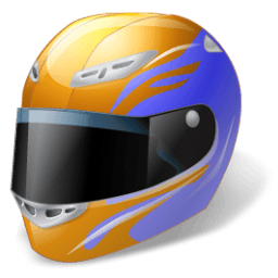 Motorsport Helmet Sticker