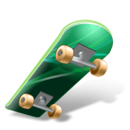 Skateboard Sticker