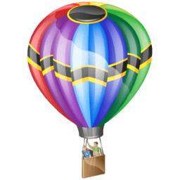 Ballooning Sticker