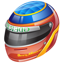 Formula 1 Helmet Sticker