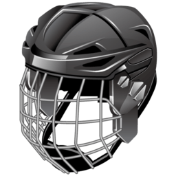 Ice Hockey Helmet Sticker