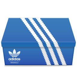Adidas Shoebox Sticker