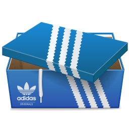 Adidas Shoebox 2 Sticker