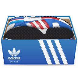 Adidas Shoes In Box Sticker