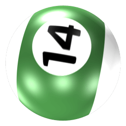 Ball 14 Sticker