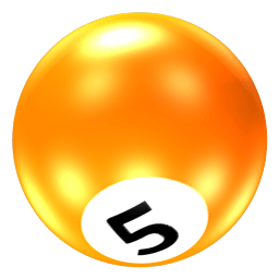 Ball 5 Sticker