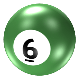 Ball 6 Sticker