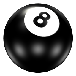 Ball 8 Sticker