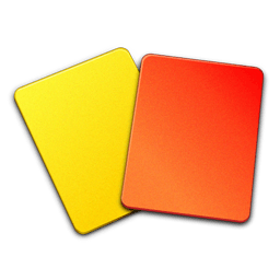 Referee Cards Sticker