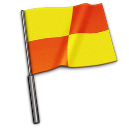 Referee Flag Sticker