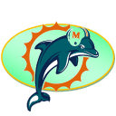 Dolphins Sticker
