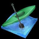 Kayak Sprint Sticker