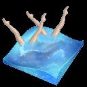 Swimming Synchronized Sticker