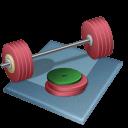 Weightlifting Sticker