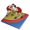 Wrestling Freestyle Sticker