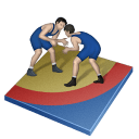 Wrestling Greco Roman Sticker