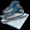 Short Track Speed Skating Sticker