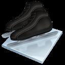 Speed Skating Sticker