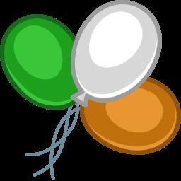 Balloons Color Sticker