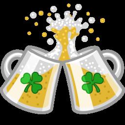 Beer Clink Cheers Sticker