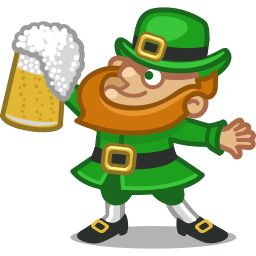 Leprechaun Sticker