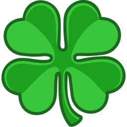 Shamrock Lucky Sticker