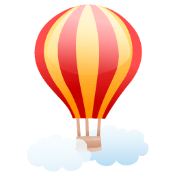 Air Balloon Sticker