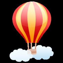 Air Balloon Sticker