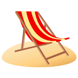 Beach Chair Sticker