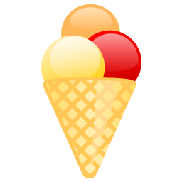 Icecream Sticker