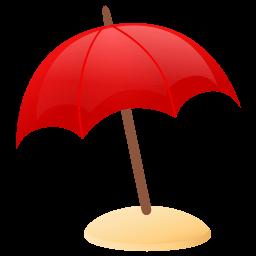 Sun Umbrella Sticker