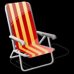 Beach Sit Sticker