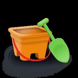 Bucket Sticker