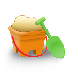 Sand Bucket Sticker