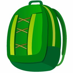 Backpack Sticker