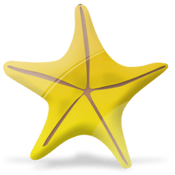 Marine Star Sticker